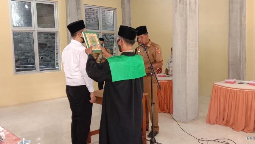 Ahmad Arif Merupakan Wali Jorong Termuda Di Kecamatan Tanjung Raya