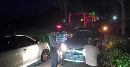 Akses Jalan Jorong Rumbai Kecamatan Tanjung Raya Yang Sempat Tertutup Kini Normal Kembali