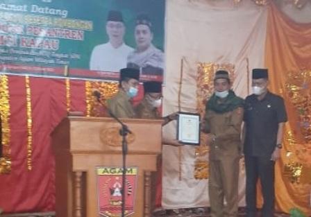 Bupati Agam membuka lomba Musabaqah Tilawatil Quran (MTQ) tingkat SD se Agam Timur