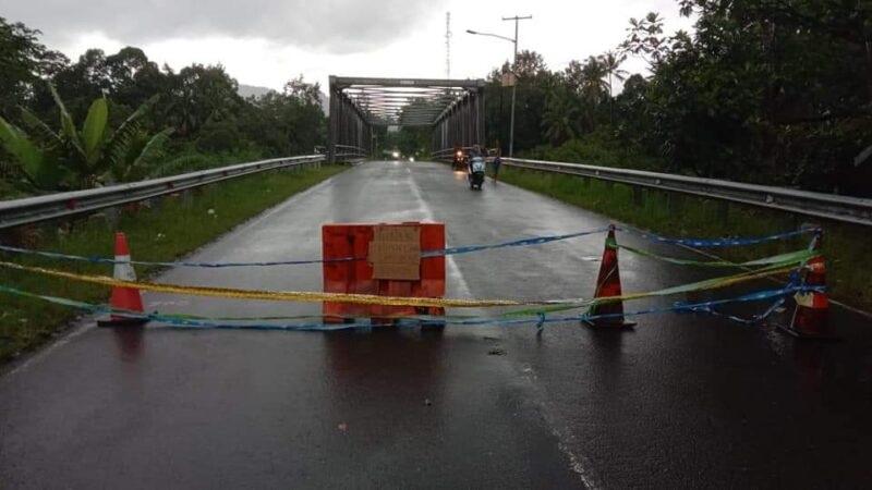 Dampak Hujan Lebat Memicu Kerusakan jembatan Batang Sani, Jalur SIMAKA Di TUTUP