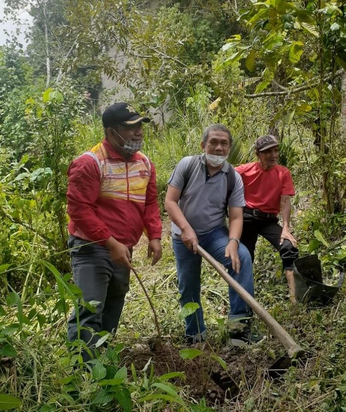 Fakultas Pertanian Unand Gelar Program Pengabdian Masyarakat di Sungai Paga Tilatang  Kamang