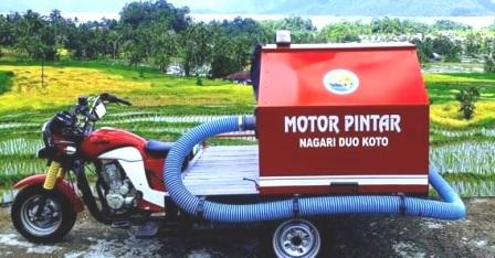 Motor Pintar 02 Merupakan Armada Inovasi Rupin Tunas Muda Nagari Duo Koto Tanjung Raya
