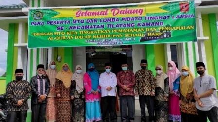 Semarakkan Ramadan 1442 hijriah FKPAI Tilatang Kamang Gelar MTG dan Lomba Pidato Tingkat Lansia