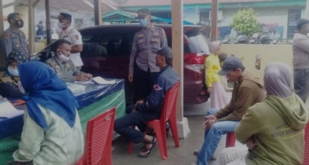 Tim Gabungan Jaring 28 Pengunjung Pasar Pakan Kamih Langgar Prokes