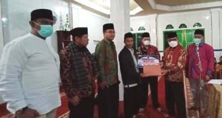 TSR Agam Kunjunggi Masjid Taqwa Batang Palupuh, Serap Kelurahan Warga Perbaikan Fasilitas Sekolah, Jalan Dan Mesjid
