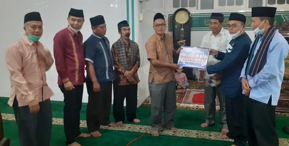 TSR XVI Agam Kunjungan Masjid Jami' Kapau Tilatang Kamang, Serap Aspirasi Masyarakat Mohon Perbaikan Jalan Umum Perlu Perbaikan Sebanjang 1 KM