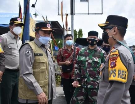 Tujuh Unit Pos Pengamanan Lebaran di Kunjunggi Bupati Agam